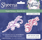 NEW Sheena Douglass Perfect Partners - In Full Bloom Dies & Unmounted Stamps