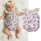 kids easter outfits - Infant Baby Kids Girls Easter Cartoon Romper Jumpsuit Casual Playsuit Outfits