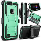 ZTE MAX XL/ZTE Blade Max 3 case,Rugged Armor Kickstand Back Cover For ZTE N9560