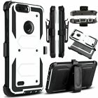 LG X Style case, Rugged Armor Back Cover in Kickstand for LG Tribute HD