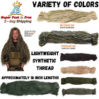 Synthetic Build Your Own Ghillie Suit Yarn Camouflage Camo Jungle Forest Hunting