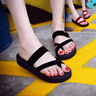 New Chic Womens Summer Flip Flop Slippers Slip Flats Casual Shoes Open Toe Beach