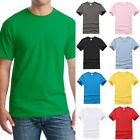Casual Mens 100%Cotton Crew Neck T-Shirts Summer T-Shirt Skateboard Tee