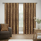 Luxury Jacquard Tape Top Pencil Pleat Curtains Fully Lined Ready Made Tiebacks <br/> 10 Colors, 6 Sizes, FREE UK Mainland Tracked Delivery,