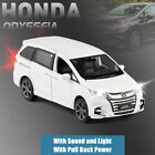Honda Odyssey MPV 1:32 Metal Diecast Model Car Toy Collection Sound&Light Gift