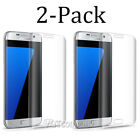 [2-Pack] Tempered Glass Screen Protector For Samsung Galaxy S7 Edge S6 Edge Plus