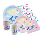 BE A MERMAID Birthday PARTY NEW Tableware Balloons Decorations Supplies (1C)
