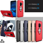 For Samsung S8 Plus 360°Rotating Metal Ring Car Magnetic Holder Stand Case Cover