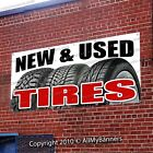 TIRE SALE Advertising Vinyl Banner Sign Many Size USA model B- FIX