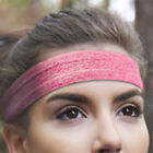 Unisex Elastic Silicone Sport Workout Fitness Sweatband Headband Hair Head Band