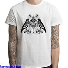 Black Crowes Tour Euro Logo Rock Legend Men's White T-Shirt Size S to 3XL image