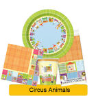 CIRCUS ANIMALS BABY SHOWER Tableware, Banners, Balloons & Decorations (UQ) 1C