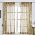 Sequined 52 x 64-Inch Window Drapes Curtains 2 Panels Home Decor Party Wedding