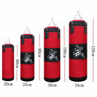 4 size Heavy Boxing Canvas Training Punching Bag Martial Fitness Muay Thai X