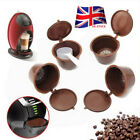 UK 5 Refillable Reusable Compatible Coffee Capsules Pods for DOLCE GUSTO Machine