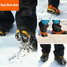 Over Shoe Studded Ice Grips Anti Slip Snow Shoes Boot Chain With Crampons Cleats