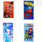 TELO MARE DISNEY 70X140 CM. 100% COTONE - PJ MASK - FROZEN - SPIDERMAN - CARS