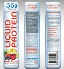 NeoPro 35g Clinical Strength Liquid Protein by New Whey - Fruit Punch