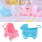 """12pcs Cute Plastic Baby Carriage Baby Shower Christening Baptism Party Favors 3"""""""