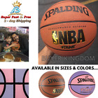 Official NBA Game Basketball Training Indoor Outdoor Rubber Spalding Varsity New on eBay