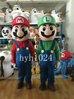 New Brother Mario and Louis  Cartoon Mascot Costume  Ault Clothing
