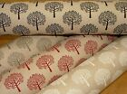 """""""Mulberry Tree"""" Linen Cotton Fabric - Curtain Upholstery Quilting Craft Blinds"""