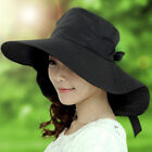 Summer Women Wide Brim Visor New Beach Cap Outdoor Sun High Quality  Neck