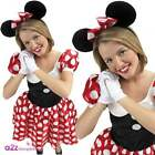 ADULT DISNEY MINNIE MOUSE LADIES FANCY DRESS COSTUME OUTFIT FILM MOVIE ANIMAL