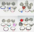 Fashion Rings Lot of 8 pcs set Boho Midi Fingers Toes Punk Knuckle Stackable