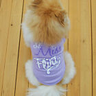 Small Pet Dog Cat Summer Shirts Vest Clothes Puppy T-Shirt Coat Pet Apparel