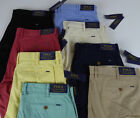 """Polo Ralph Lauren Stretch Classic Fit 9"""" Inseam Cotton Shorts NWT $75 Polo Badge"""