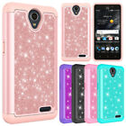 For ZTE Maven 3 / Overture 3 Case Fashion Glitter Bling Hybrid Protective Cover