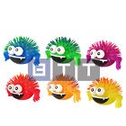 12x Flashing Puffer Spider Squidgy Sensory Stress TOY Party Bag Filler Toy 7cm
