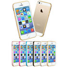 Ultra Thin Luxury Aluminum Metal Bumper Case Cover For iPhone SE/5/5s 6/6s 6s+