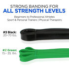Resistance Bands Pull Up Exercise - Workout Bands Stretch Bands - Single / Set