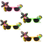 FLAMINGO HAWAIIAN SUMMER SUNGLASSES SPECS TROPICAL PARTY FANCY DRESS NOVELTY