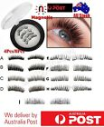 magnetic false eyelashes no glue handmade natural extension eye lashes 3d triple