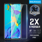 Huawei P20 P20 Pro Screen Protector, Genuine Maxshield 9H Tempered Glass Guard