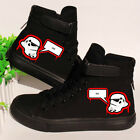 Star Wars  Darth Vader Canvas Shoes Casual Shoes  High Top Shoes Flat Shoes