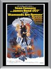 Diamonds Are Forever Sean Connery A1 To A4 Size Poster Prints $17.95 AUD on eBay
