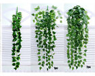 Artificial Fake Hanging Vine Plant Leaves Garland Home Garden Wall Decoration HY