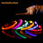 2018 Adjuatable LED Dog Cat Pet Collar Night Safety Bright F