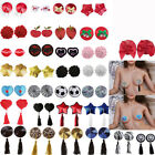 Sexy Breast Tassel Nipple Cover Sticker Pad Self Adhesive Enhancer Reusable