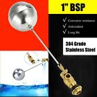 1'' Float Valve -All Stainless Steel- Water Trough Automatic Cattle Bowl Tank