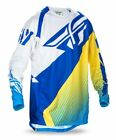 Fly Racing Evolution 2.0 '17 Mens MX Jersey Blue/Yellow/White