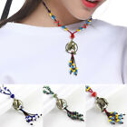 Vintage Chinese Ceramics Magpies Necklace Pendant Sweater Accessories Handmade