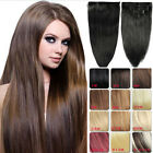 """Clip in Remy Extension 100% Human Hair Full 130G 7PCS 16''18''20''22''24"""""""