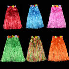 hula costumes - Hawaiian Hula Grass Skirt Fancy Dress Adult Costume With Flower Long FJ