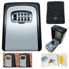 KEY SAFE BOX OUTDOOR HIGH SECURITY WALL MOUNTED SECURE 4-DIGIT COMBINATION LOCK