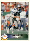 1992 Pacific Steve Largent Pick A Card and Finish Your Set